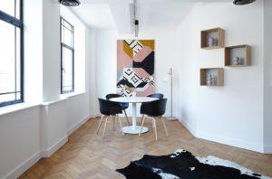 Chaises, Salon, Table, Contemporain, Meubles